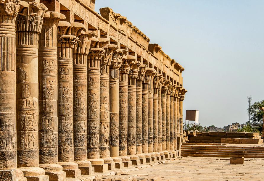 Entdeckerreise Nil, Philae-Tempel