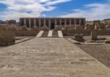 Entdeckerreise Nil, Abydos, Tempel Sethos