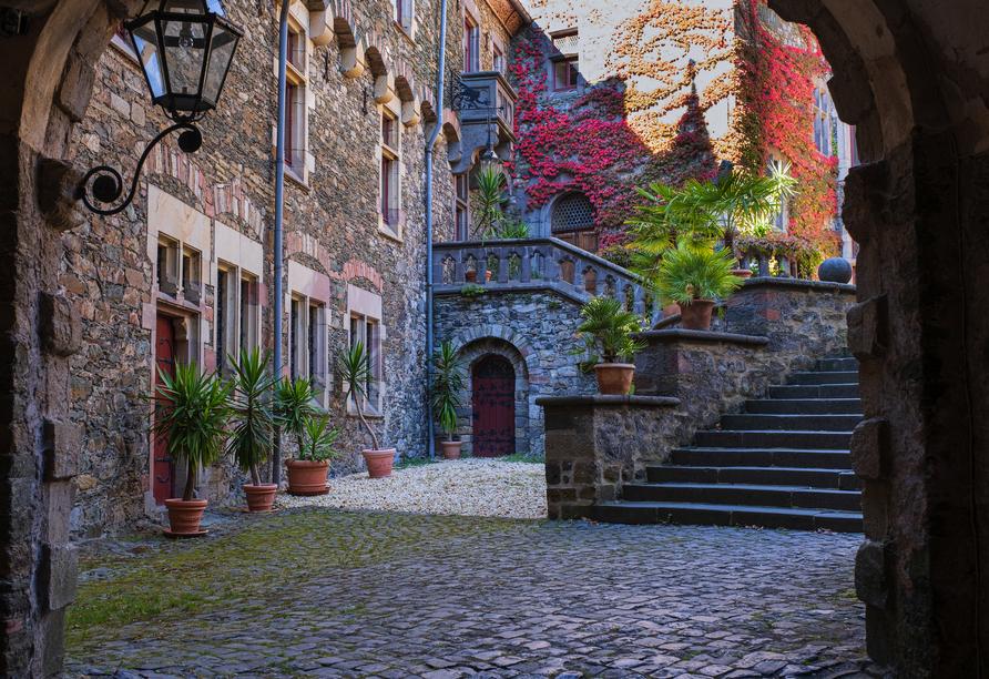 Schlosshotel Braunfels, Innenhof Schloss Braunfels
