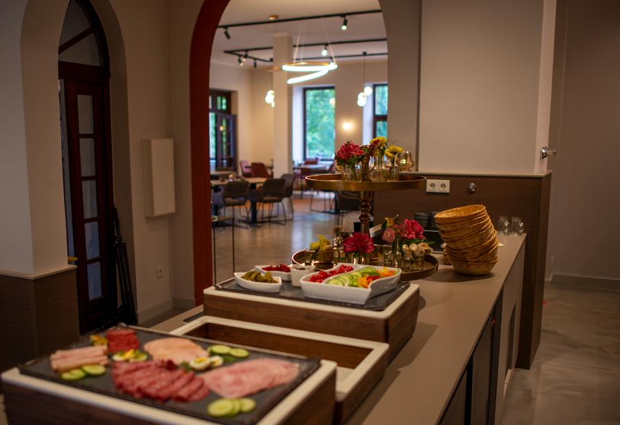 Schlosshotel Braunfels, Frühstück