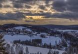 Ferienhotel Mühlleithen in Klingenthal im Vogtland Wandern, Klingenthal Winter