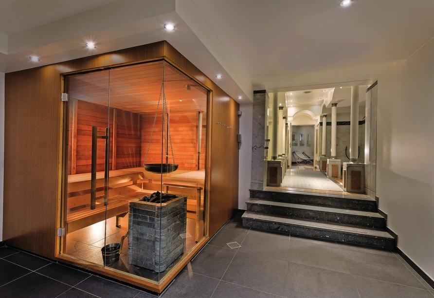 Seminaris Hotel Leipzig, Sauna