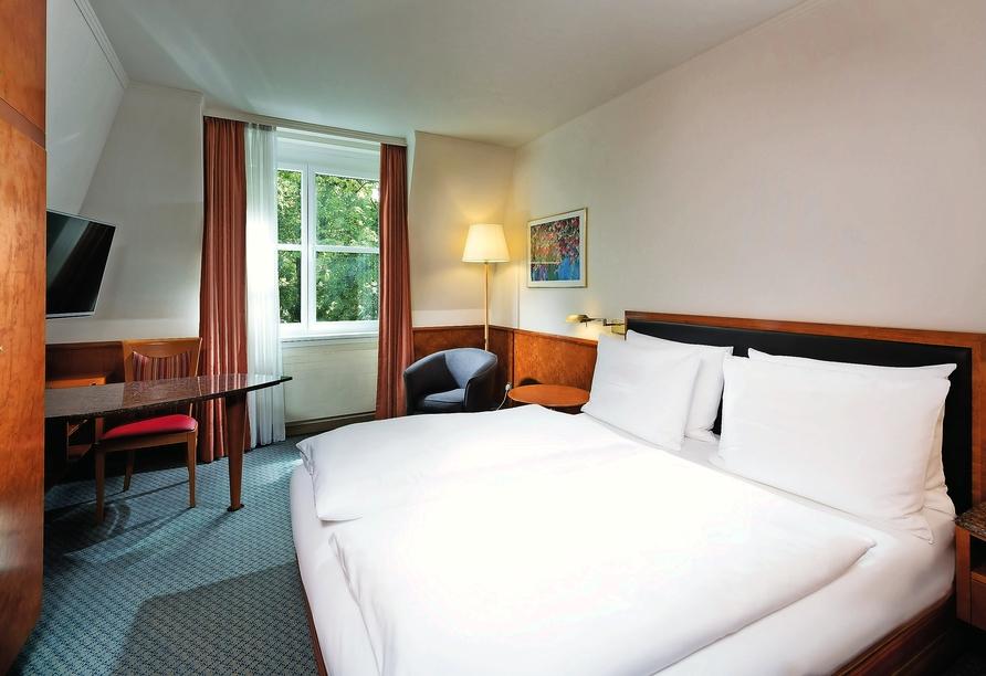 Seminaris Hotel Leipzig, Beispiel Doppelzimmer