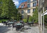Seminaris Hotel Leipzig, Terrasse