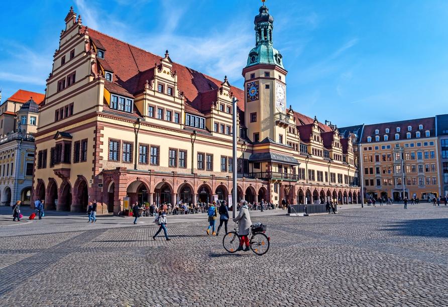 Seminaris Hotel Leipzig, Rathaus Leipzig