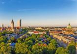 Seminaris Hotel Leipzig, Skyline Leipzig
