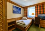 SCOL Sporthotel Zillertal, Zimmerbeispiel Einzelzimmer
