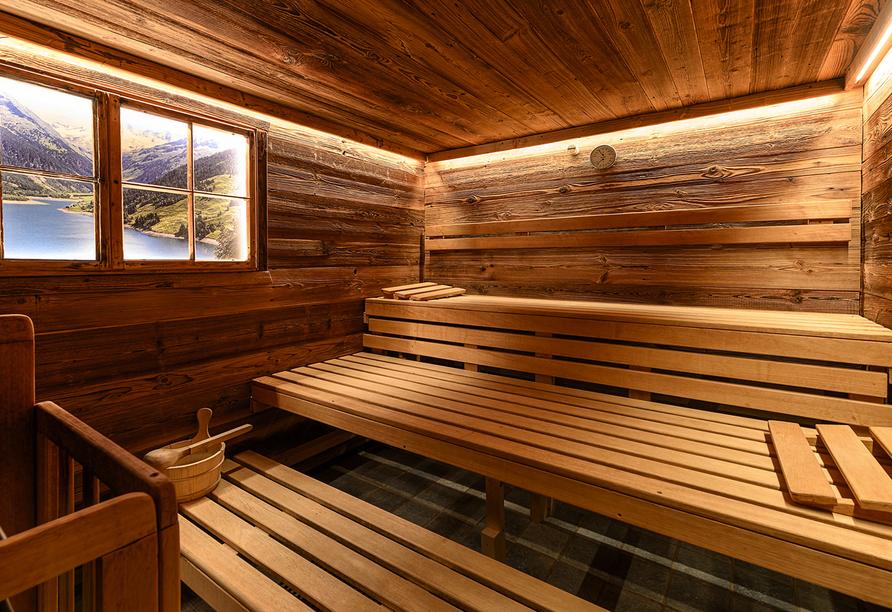 SCOL Sporthotel Zillertal, Sauna