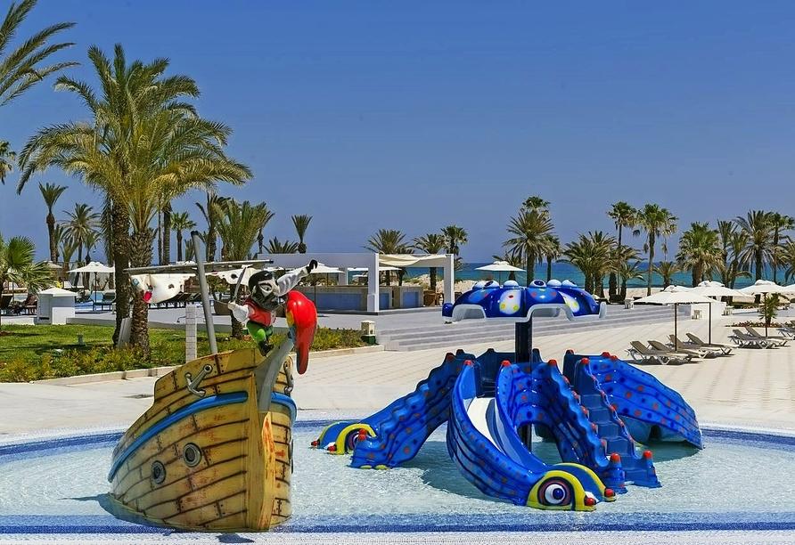 Hotel Jaz Tour Khalef, Wasserrutschen