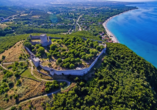 Die Burg von Platamonas ist einen Besuch wert.