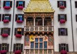 Wellnesshotel Kohlerhof Fügen Zillertal, Sightseeing Innsbruck