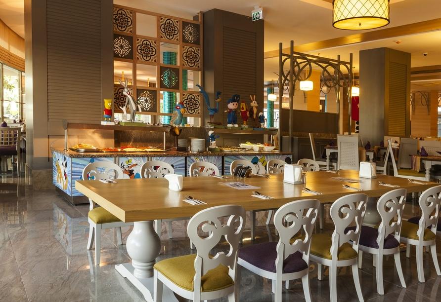 Hotel Belek Beach Resort, Kinderbuffet