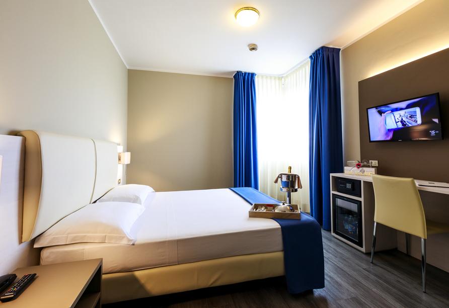 Hotel Oleggio Malpensa, Piemont, Italien, Zimmerbeispiel