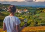 Hotel Oleggio Malpensa, Piemont, Italien, Wein
