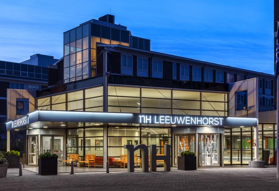 Die Außenansicht vom Hotel NH Noordwijk Conference Centre Leeuwenhorst