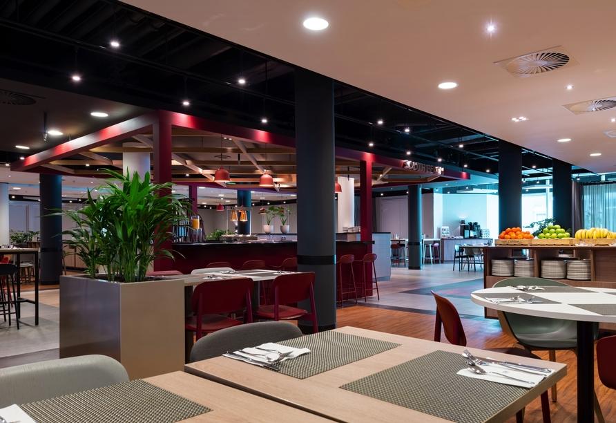 Freuen Sie sich im Hotel NH Noordwijk Conference Centre Leeuwenhorst auf leckere Speisen.