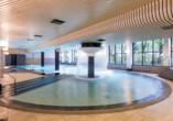 Das Hallenbad im Hotel NH Noordwijk Conference Centre Leeuwenhorst