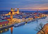 Ein Ausflug nach Passau lohnt sich.