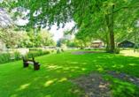 Direkt neben dem The Fallon Hotel Alkmaar ist ein schöner Park.
