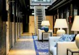 Das Hotel hat einen eigenen Charme, der sich vor allem in den Gängen und Fluren zeigt.