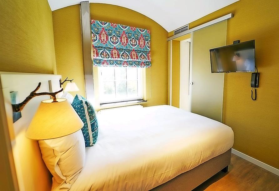 Beispiel eines Doppelzimmers Komfort im The Fallon Hotel Alkmaar