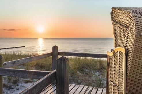 Hotel Seaside Rügen in Putbus, Meer