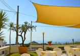 Die Sonnenterrasse des Hotels Al Bosco Terme bietet Ihnen einen einzigartigen Panoramablick.