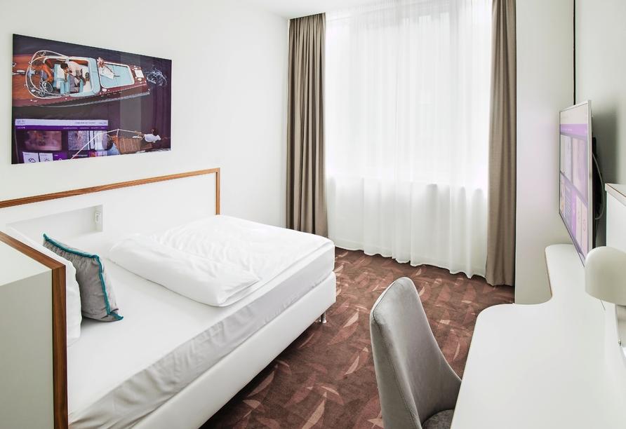 Mercure Hotel MOA Berlin, Einzelzimmerbeispiel