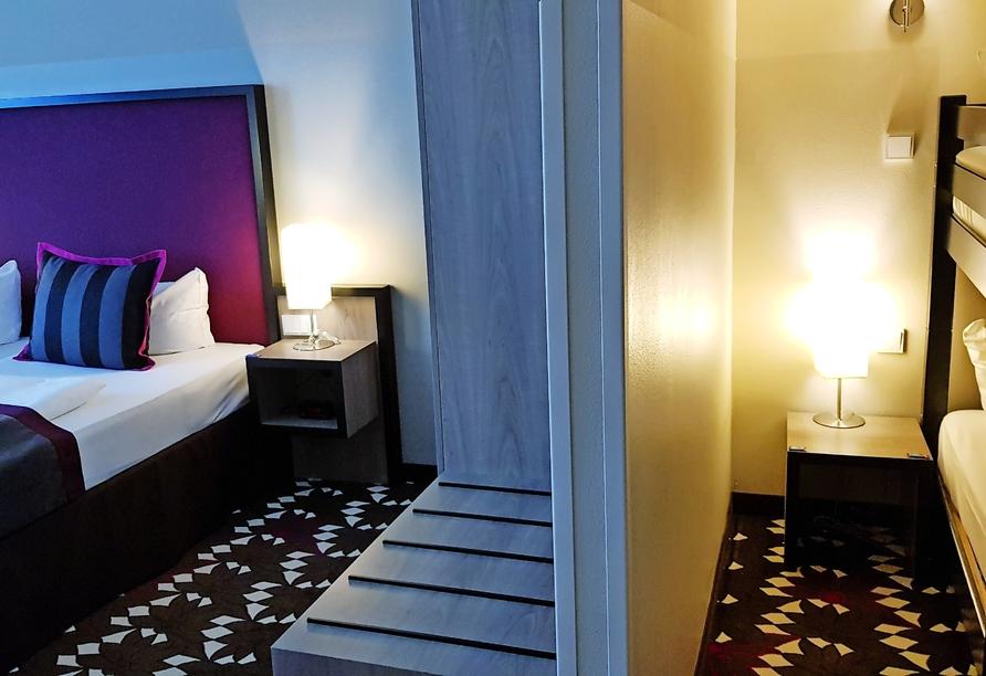 Mercure Hotel MOA Berlin, Familienzimmerbeispiel