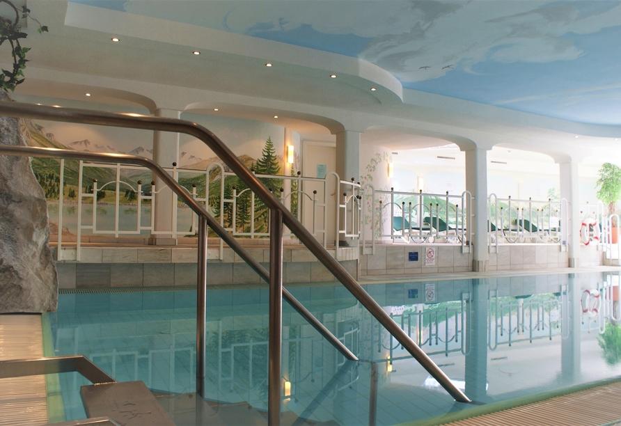 Sporthotel Xander, Leutasch, Österreich, Hallenbad