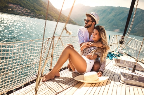 Blaue Reise Dalmatien, Paar Schiff
