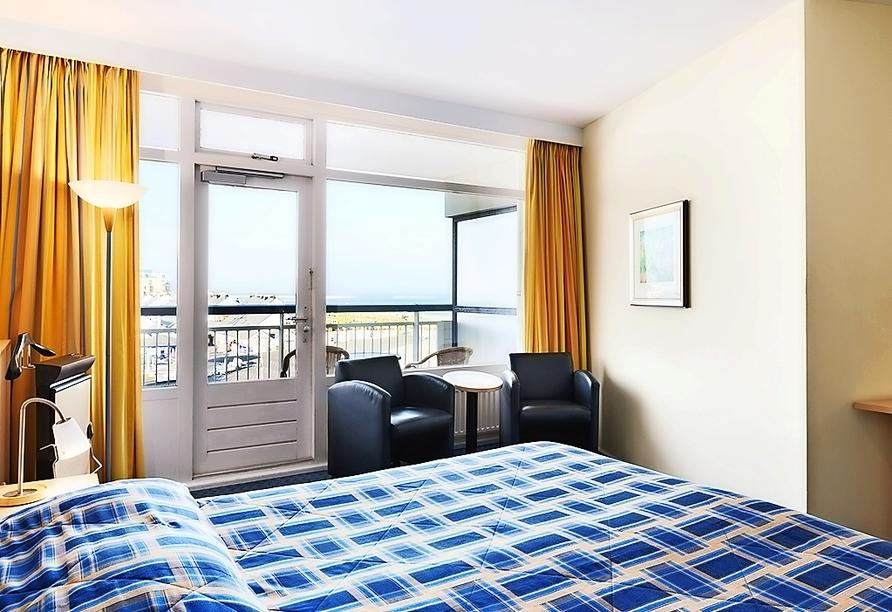 Beispiel eines Doppelzimmers im Hotel NH Atlantic Den Haag