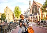 Erkunden Sie die Hauptstadt der Niederlande – Amsterdam.