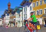 Die malerische Stadt Bad Tölz hält eine schöne Altstadt für Sie bereit.