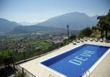 Parc Hotel Deva in Riva del Garda, Italien, Außenpool