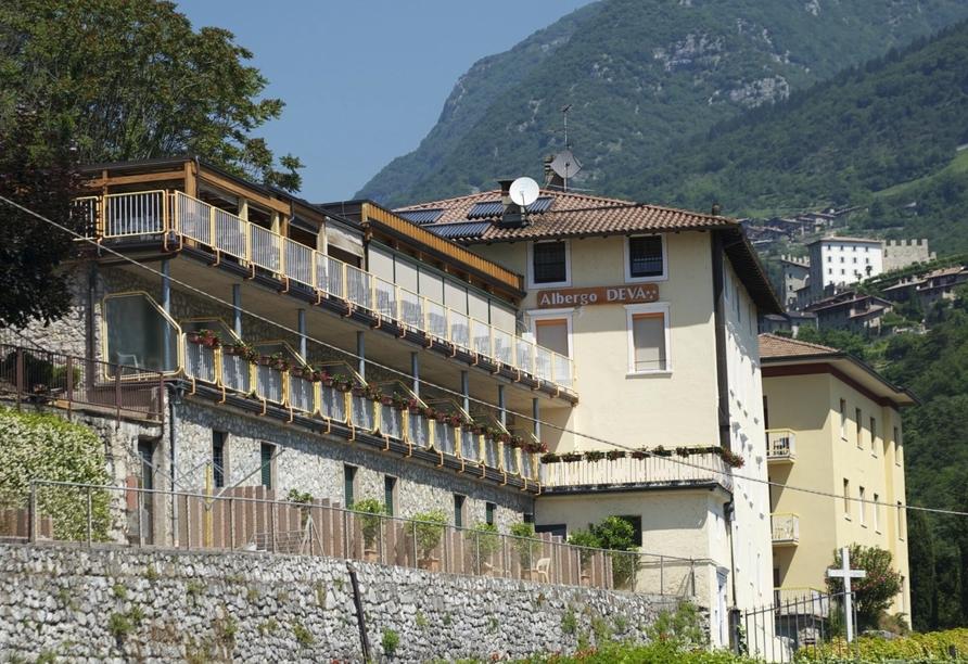 Parc Hotel Deva in Riva del Garda, Italien, Außenansicht