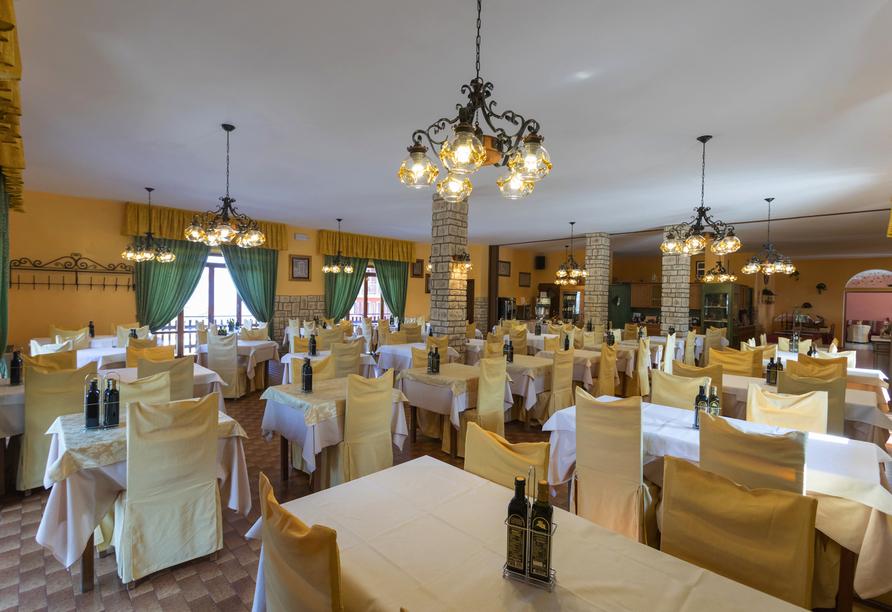 Hotel Belvedere, San Zeno di Montagna, Italien, Restaurant
