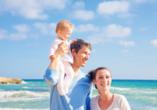Genießen Sie Ihren Urlaub gemeinsam mit der Familie.