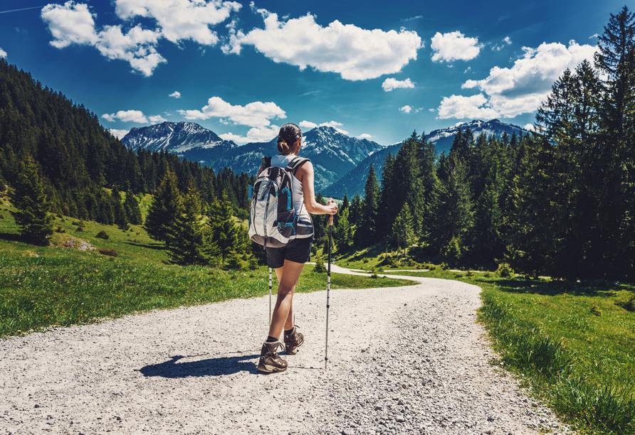 Alpenhotel Edelweiss in Maurach, Österreich, Wandern
