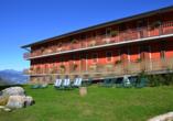 Hotel Belvedere, San Zeno di Montagna, Italien, Außenansicht