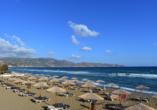 Hotel Apollonia Beach Resort & Spa in Amoudara, Strand