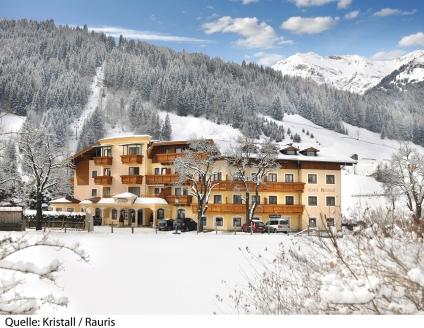 Hotel Ferienwelt Kristall in Rauris, Außenansicht Titel