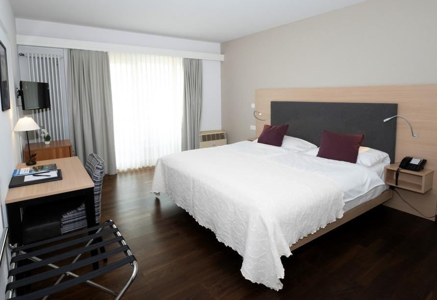 Hotel Polo in Ascona, Schweiz, Zimmerbeispiel