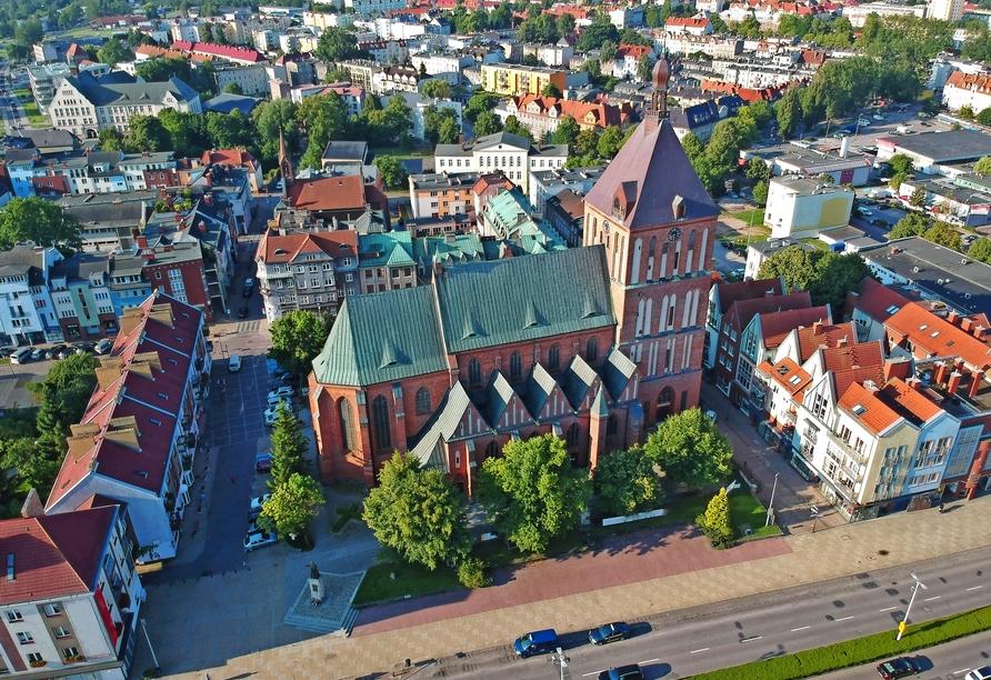 Ferienhäuser Bernstein Kur- & Wellnesszentrum in Dabki-Bobolin, Ausflugsziel Köslin