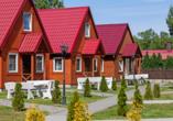 Ferienhäuser Bernstein Kur- & Wellnesszentrum in Dabki-Bobolin, Außenansicht