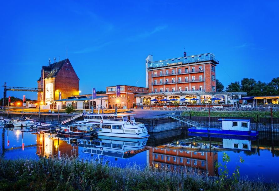 Hotel Dömitzer Hafen, Außenansicht
