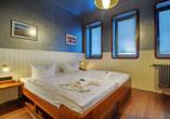 Hotel Dömitzer Hafen, Beispiel Doppelzimmer