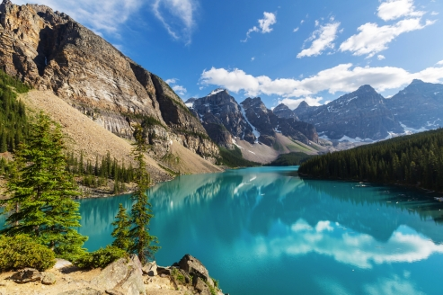 Kanadas Highlights von Ost nach West, Banff-Nationalpark