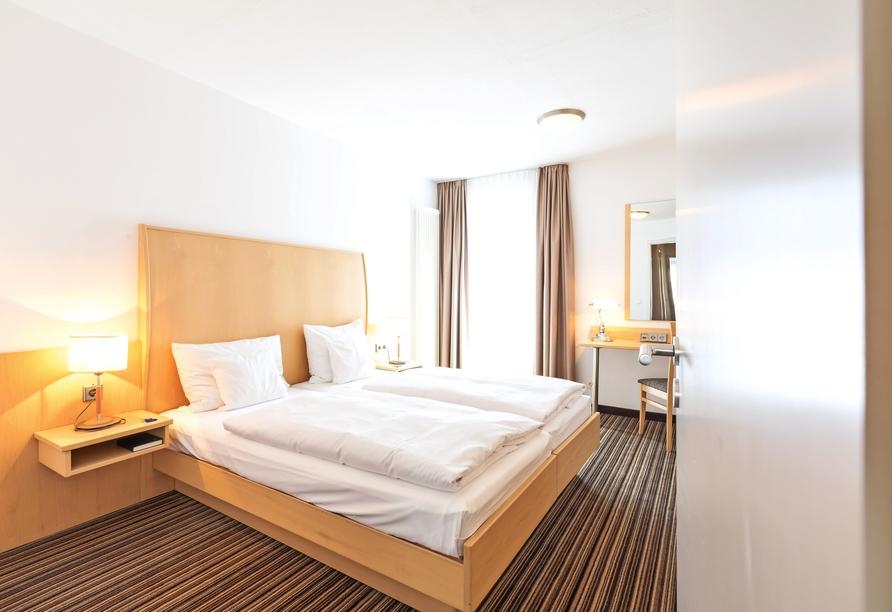 HSH Hotel Apartments Mitte Berlin, Beispiel eines Doppelzimmers