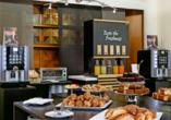 Hotel Executive, Frühstück